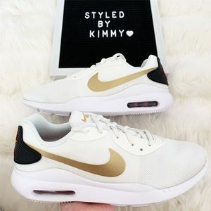 🌸 Nike Air Max Oketo Sneakers Shoes Gold New